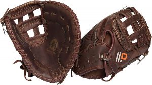 Nokona first base infielder baseball mitt