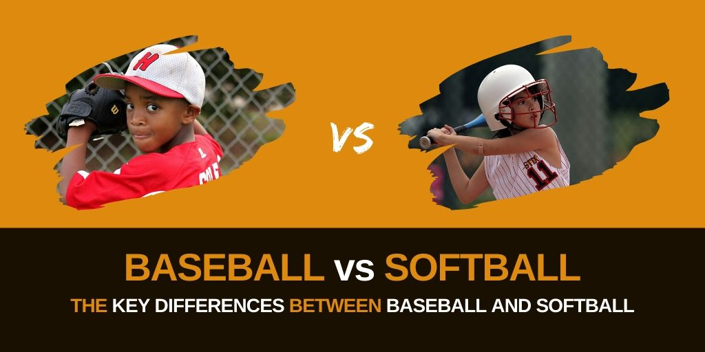 Header image for Baseball vs Softball article post: Baseball vs Softball [MindfuseBaseball.com]