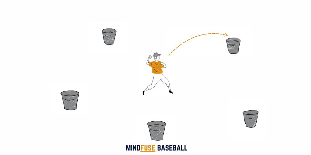 Baseball Drills for Kids: Bucket Drop [MindfuseBaseball.com]