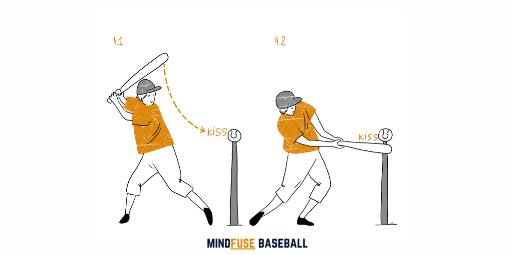 Baseball Drills for Kids: Kiss The Ball [MindfuseBaseball.com]